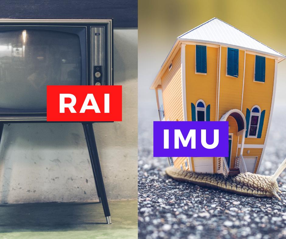 IMU e Canone RAI strutture ricettive