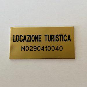 Targa Locazione Turistica Ottone Venezia